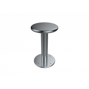 Floor Mounted Security Stool with Radiused Edge