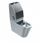 ADA Security Toilet with Integrated Toilet Seat