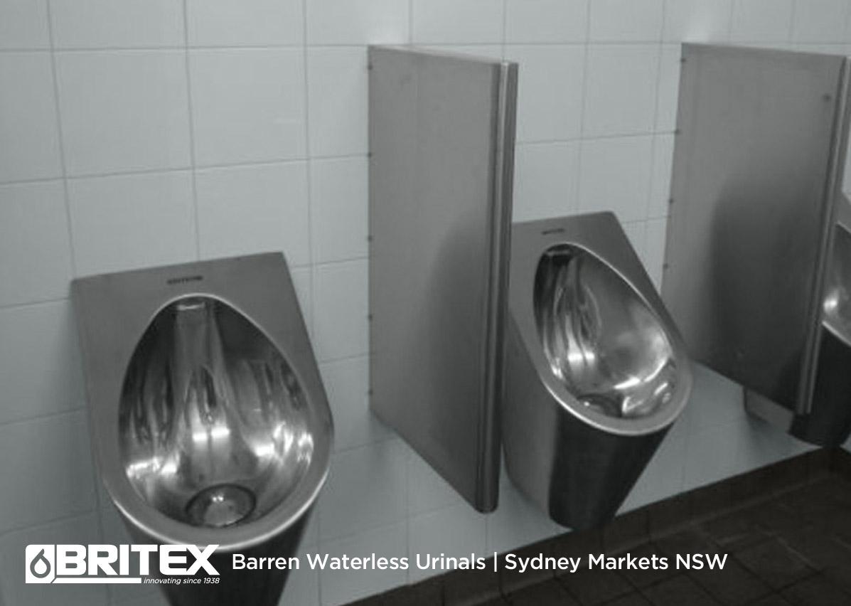 Barren Waterless Urinals