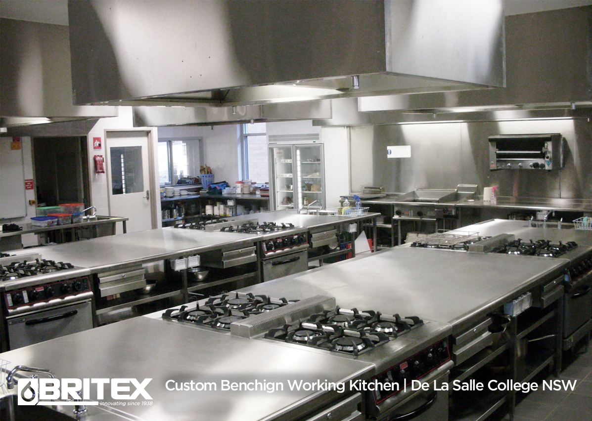 Custom Working Kitchen
