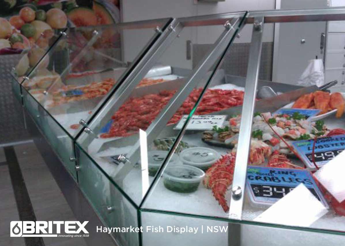 Seafood Display Cabinet