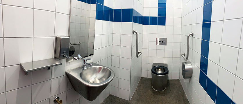 Yulong Reserve Toilet Block