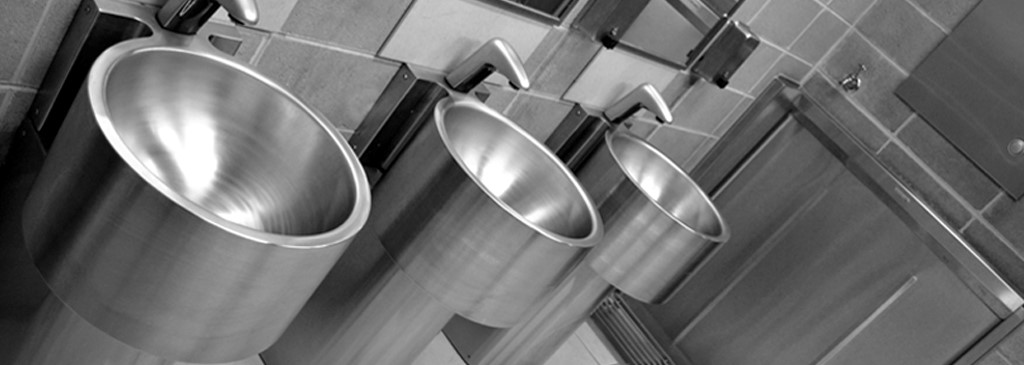 stainless steel wash basins